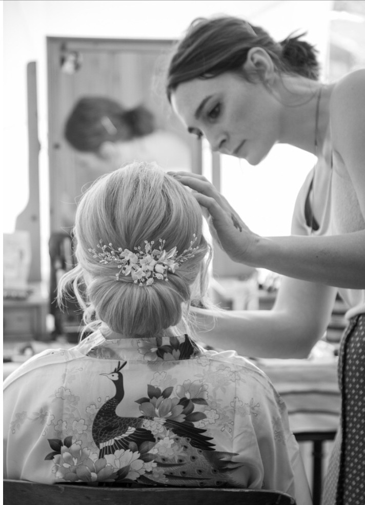 A low bun - Make Me Bridal Artist: Katy Djokic - Wedding Hair & Makeup. Photography by: Beder Photography. #weddinghair #updo #lowbun