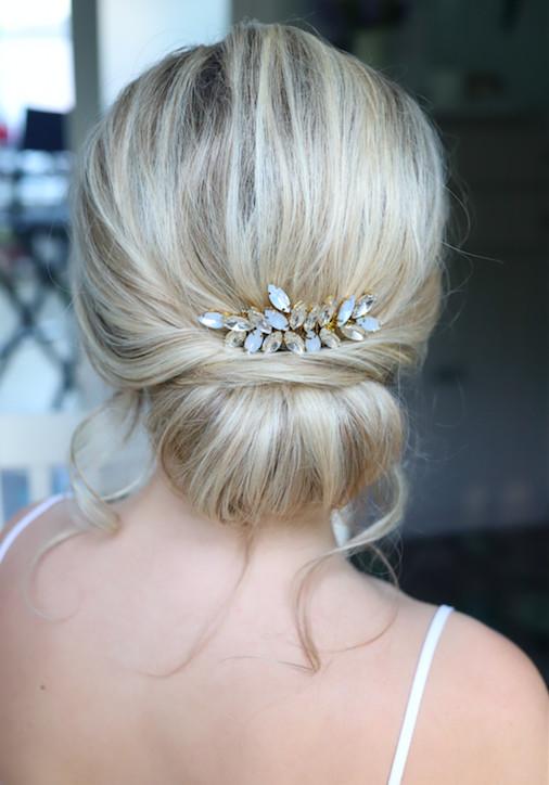 - Make Me Bridal Artist: Katy Djokic - Wedding Hair & Makeup. #lowbun #classichair