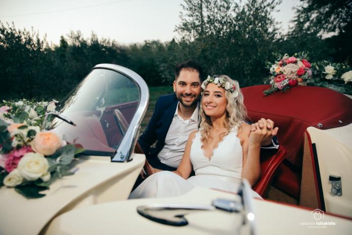 And they lived happily ever after! Ioanna's wedding summer 2019 at Katerini Greece - Make Me Bridal Artist: Eleni Liatsou Make up. #bohobride #flowercrown #pinklipstick #weddingmakeup #makeupartist #bohowedding #freshmakeup #classicmakeup #naturalbridal #romanticstyle #romanticlook #naturalskin #naturalbeauty #greekwedding #summer2019 #bidalmua