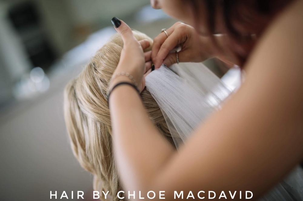 - Make Me Bridal Artist: Hair by Chloe MacDavid.