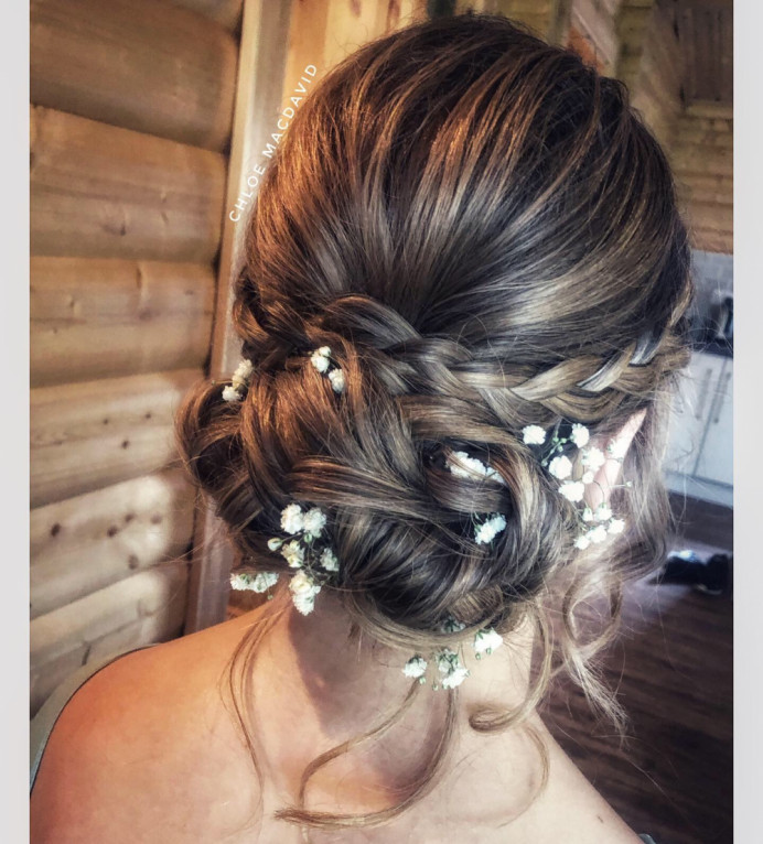 - Make Me Bridal Artist: Hair by Chloe MacDavid.
