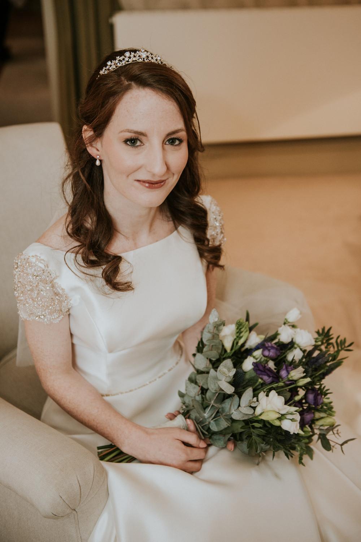 A beautiful wedding in the Scottish Borders - Make Me Bridal Artist: Samantha Eaton Make-up. Photography by: Alex Martin . #classic #vintage #airbrushedmakeup #redhead #scottishwedding
