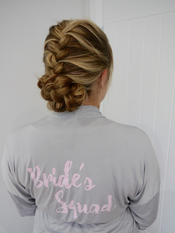 - Make Me Bridal Artist: Rosie Hart . #bohemian #boho #bridalhair #braid #bridesmaidhair #braidedupdo #braids #plaits #bridesmaid #bohobride #bohowedding #plaitupdo #bridesquad