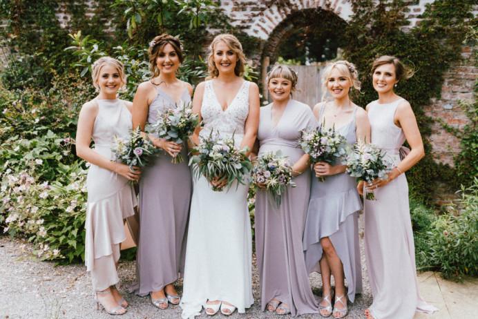 - Make Me Bridal Artist: Lottie Haigh Wedding Hair. Photography by: Clique Visuals. #boho #bohobride #bohobridesmaid #middletonlodge #yorkshirewedding