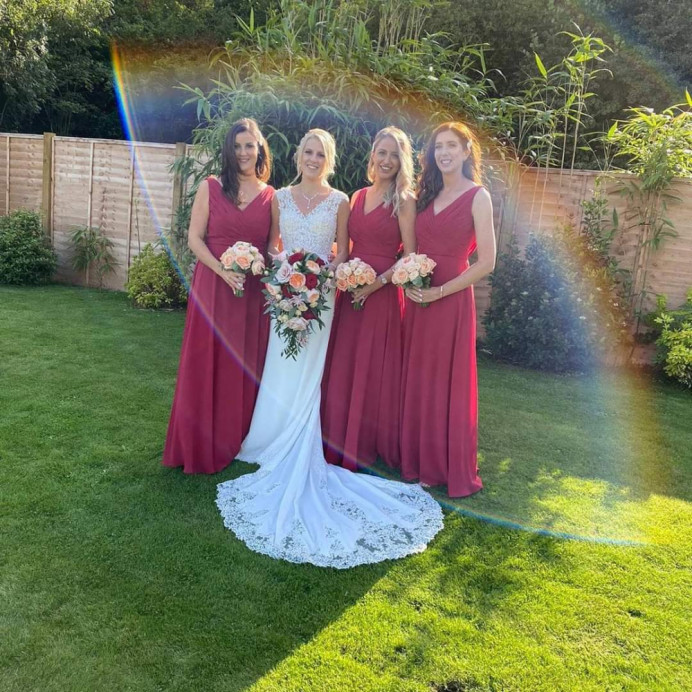 Bridal party makeup by Alex hair and makeup - Make Me Bridal Artist: Alex hair and makeup. #bridesmaidmakeup #bridalmakeupartist #makeup #bridalmakeup