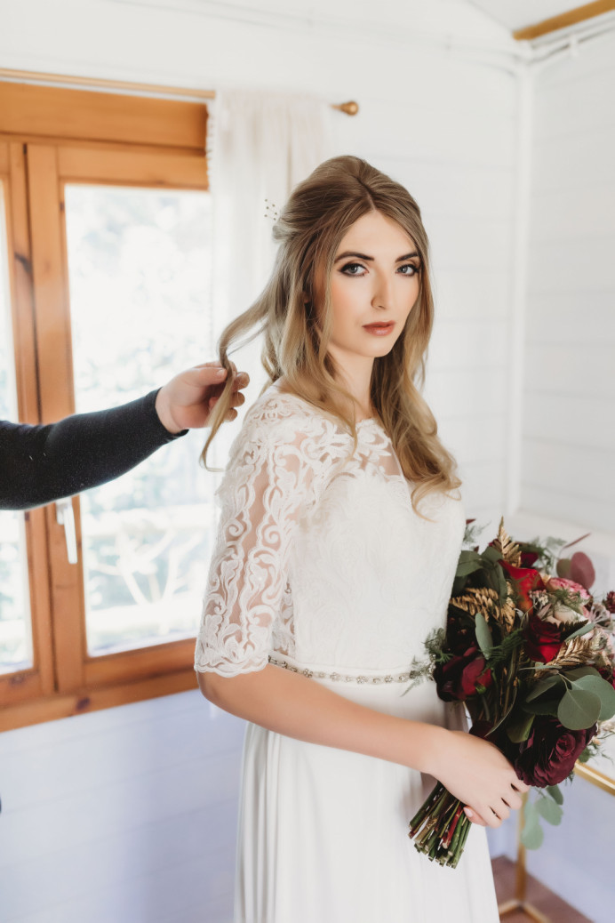 Beautiful makeup to enhance her natural feature and to give some colour to the cheeks and eyes - Make Me Bridal Artist: Alex hair and makeup. Photography by: Victoria crocker. #classic #bridalmakeup #lashes #perfectmakeup #makeup #charlottetilbury #bridalmakeupartist