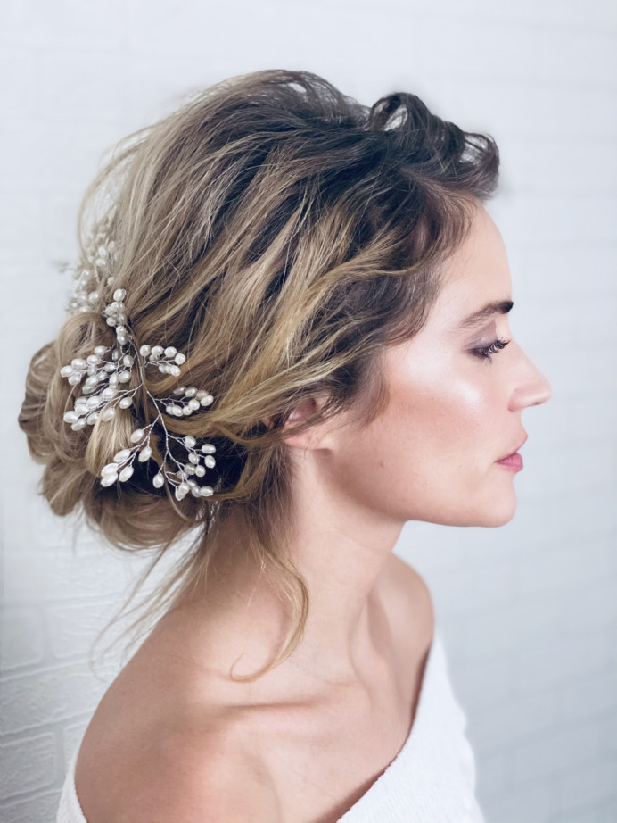 - Make Me Bridal Artist: Carter Hair & Makeup. Photography by: Me. #bohemian #boho #naturalmakeup #bridalmakeup #bridalhair #romantichairup #bridesmaidhair #bridalhairstylist #bohobride #weddinghairup