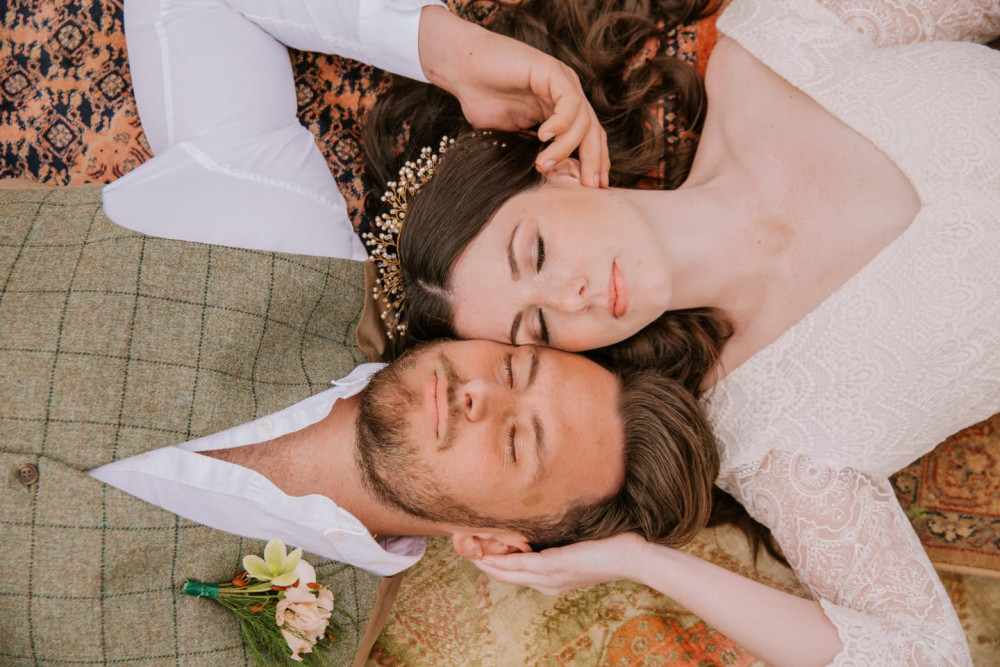 Makeup only by me - Make Me Bridal Artist: Carter Hair & Makeup. Photography by: Lucy King. #boho