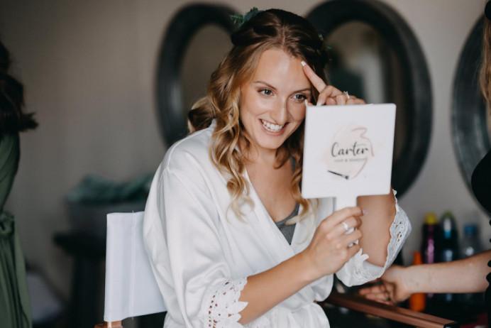 - Make Me Bridal Artist: Carter Hair & Makeup. Photography by: Peter Oliver. #classic #naturalmakeup #bridalmakeup #naturalweddingmakeup