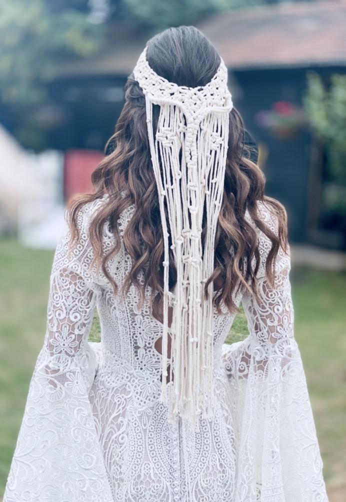 - Make Me Bridal Artist: Carter Hair & Makeup. Photography by: Me. #bohemian #boho #loosecurls #waves #wavyhair #bohobride #bohohair