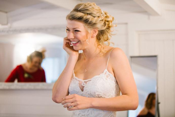 - Make Me Bridal Artist: Carter Hair & Makeup.
