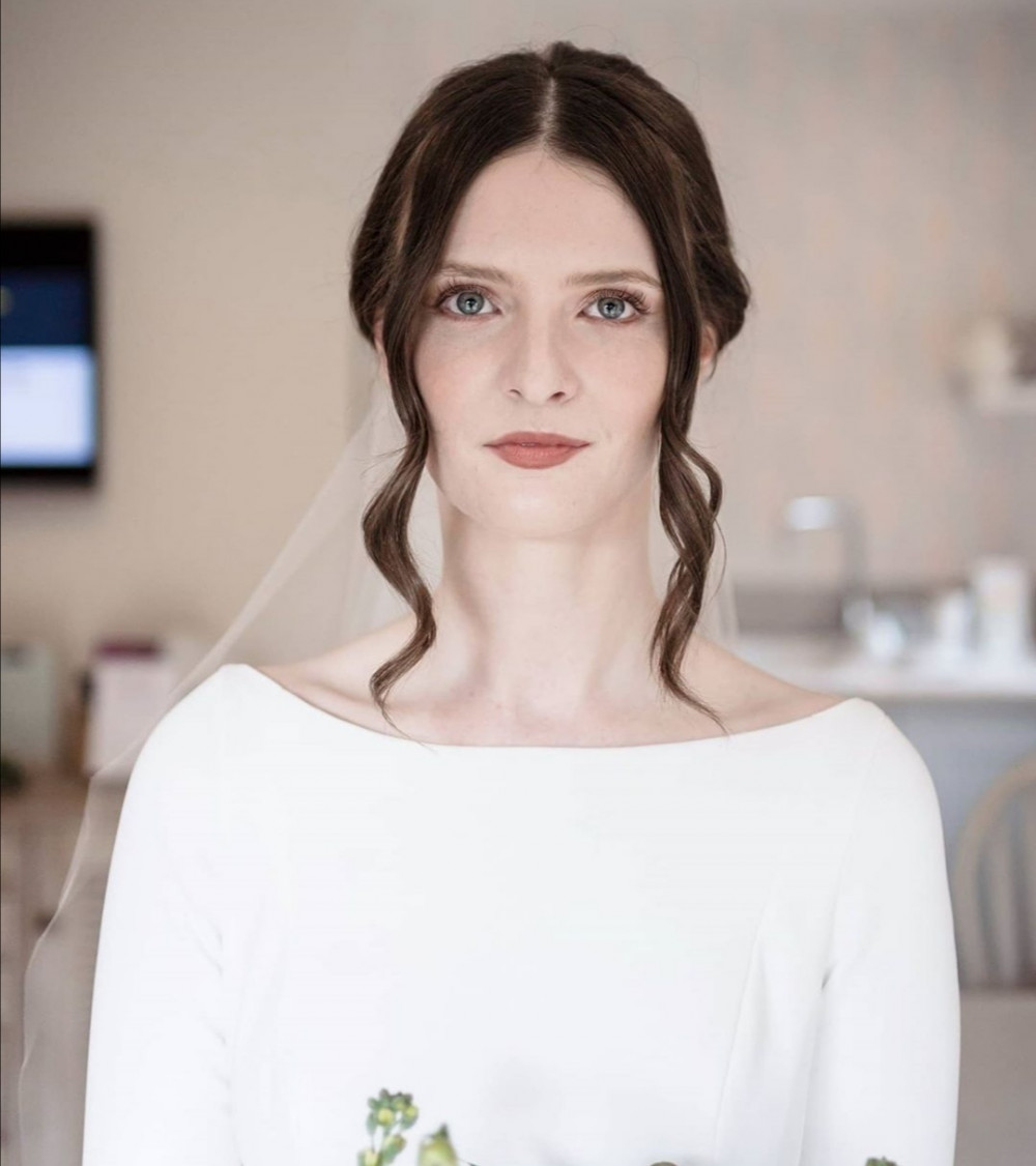 - Make Me Bridal Artist: Hayley Clarke Makeup Artist. Photography by: Him and Her Wedding Photography. #bohemian #classic #vintage #boho #naturalmakeup #bridalmakeup #haylieclarkeymakeup