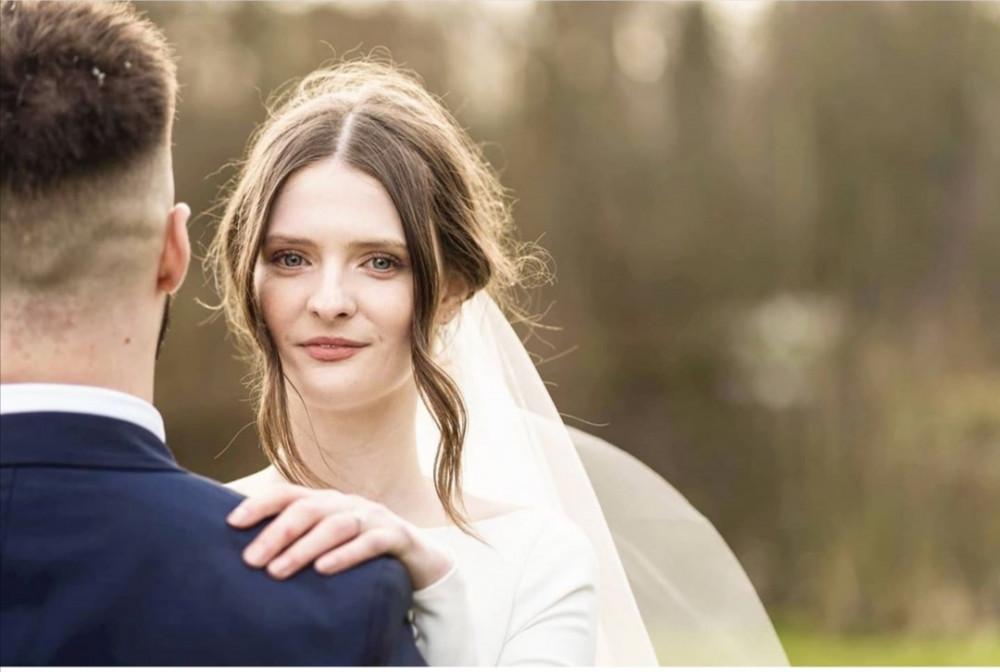 - Make Me Bridal Artist: Hayley Clarke Makeup Artist. Photography by: Him and Her Wedding Photography. #bohemian #classic #boho #naturalmakeup #weddingmorning #gettingready #bridalmakeup #glow