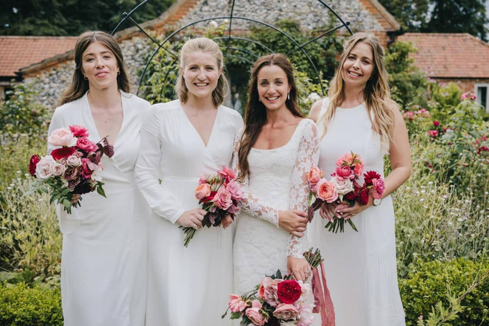 Hannah and her Bridesmaids, Happy Valley Norfolk