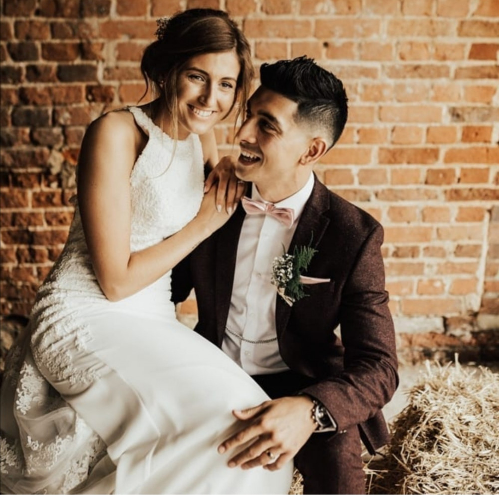 The gorgeous Fiona and Harry at Fishley Hall Norfolk - Make Me Bridal Artist: Hayley Clarke Makeup Artist. Photography by: Darena Stoda. #bohemian #naturalmakeup #bridalhair #bohowedding #norfolk #makeupartistnorfolk #norfolkwedding