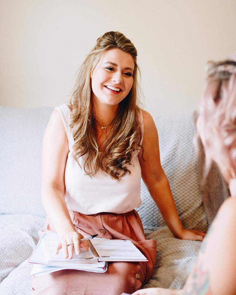 Hannah's soft makeup for Pretty & Punk Weddings promo shoot! - Make Me Bridal Artist: Bohemia Beauty. Photography by: Lauren Dillon.