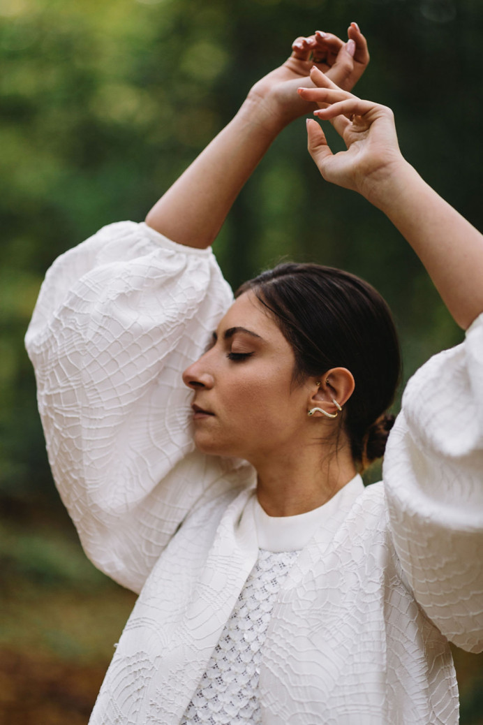 - Make Me Bridal Artist: Abi Taylor Bride. Photography by: Osman Marfo Gyasi. #bridalmakeup #modernbride