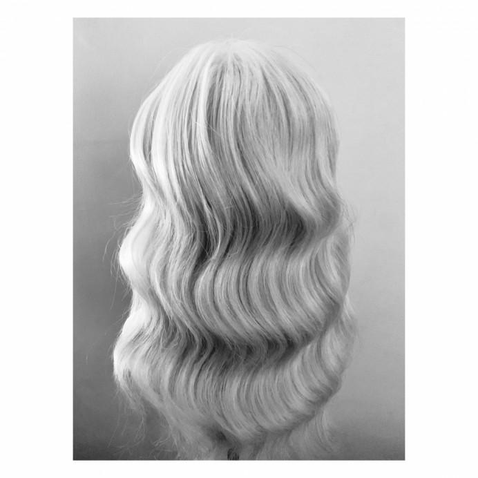 - Make Me Bridal Artist: Abi Taylor Bride. Photography by: Abi Taylor. #bohobride #hollywoodwaves #bohohair #weddinghair #vintagewave #retrowaves #londonweddinghair