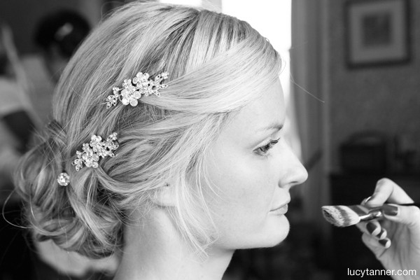 Classic soft romantic look for this lovely Bride - Make Me Bridal Artist: Alexis Anstey. Photography by: Lucy Tanner. #classic