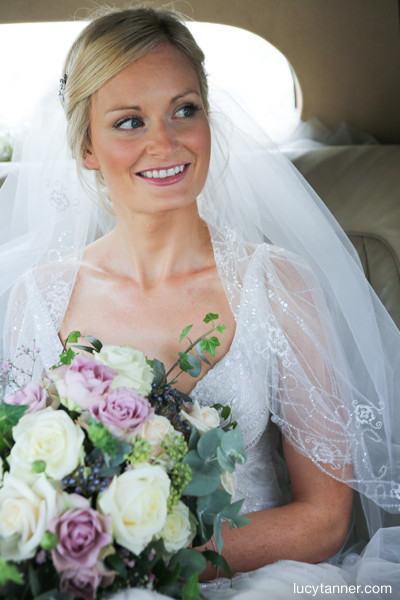 Summery feels for this pretty Bride. - Make Me Bridal Artist: Alexis Anstey. Photography by: Lucy Tanner. #classic