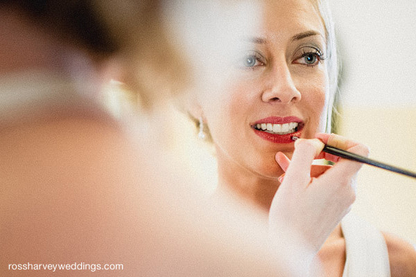 When only red lips will do! - Make Me Bridal Artist: Alexis Anstey. Photography by: Ross Harvey. #glamorous