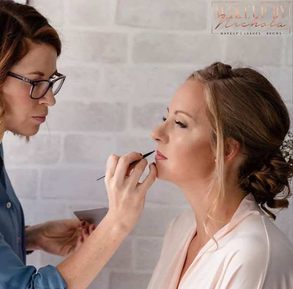 Traditional makeup by Nichola - Make Me Bridal Artist: Makeup By Nichola. #classic #bridesmaid #natural #pink