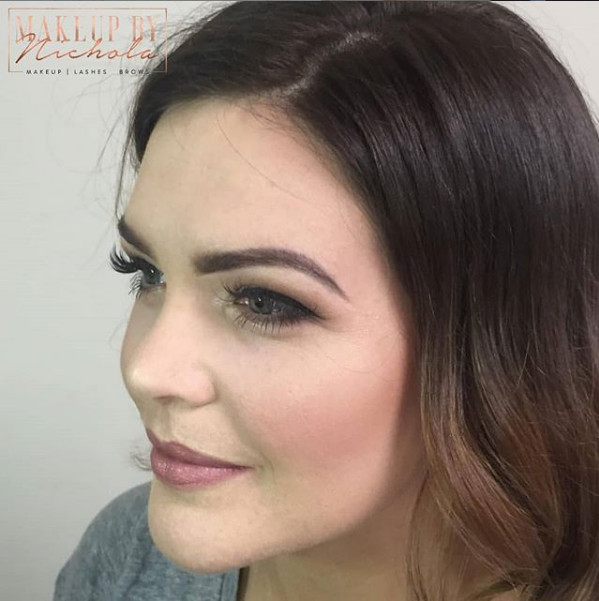 Airbrush makeup by Nichola - Make Me Bridal Artist: Makeup By Nichola. #classic #naturalmakeup #airbrush
