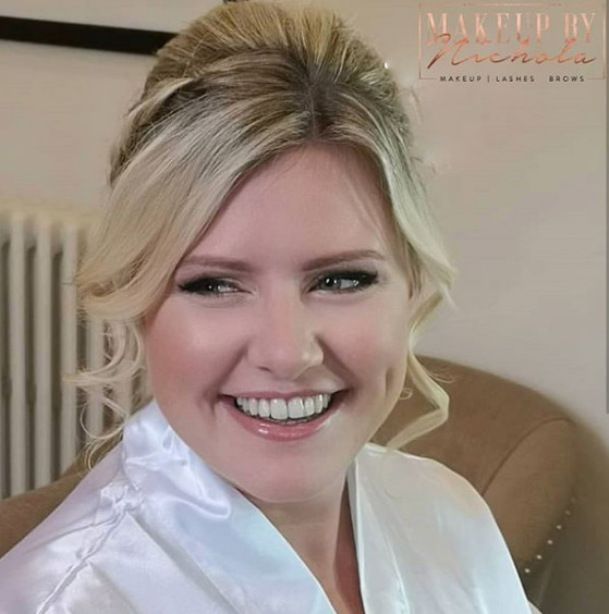 Airbrush makeup by Nichola - Make Me Bridal Artist: Makeup By Nichola.