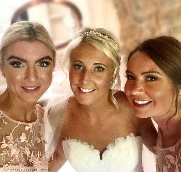 Destination wedding - Ibiza Bride - traditional makeup by Nichola Bridesmaids - airbrush makeup by Nichola - Make Me Bridal Artist: Makeup By Nichola. #bridalmakeup #bridesmaidmakeup #destinationwedding #glowingskin #ibiza