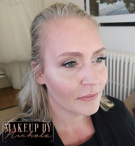 Airbrush makeup by Nichola - Make Me Bridal Artist: Makeup By Nichola. #naturalmakeup #bridesmaidmakeup #flawless #airbrushmakeup