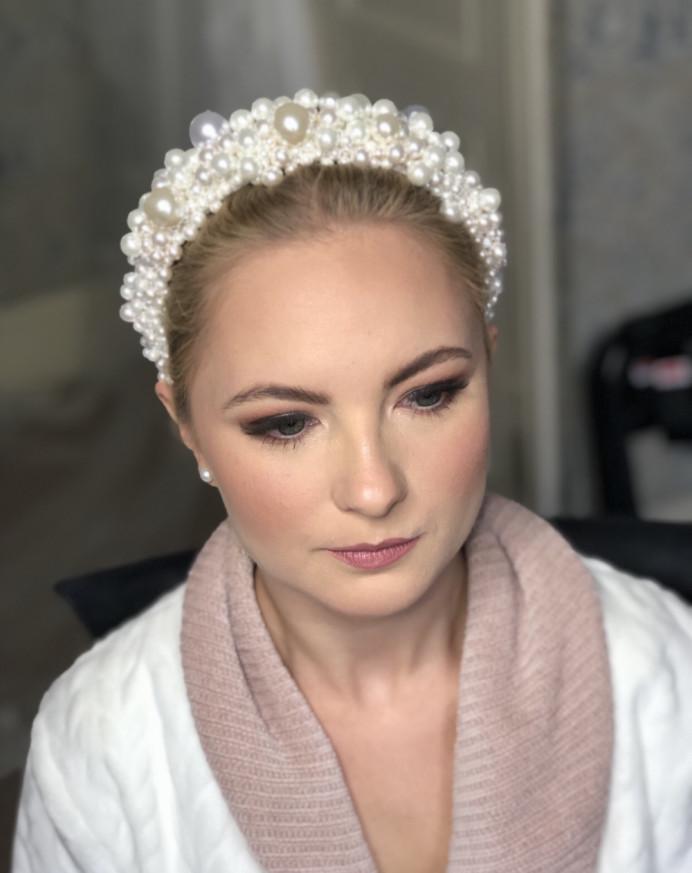 Bridal Makeup at The Petersham Hotel in Richmond Surrey - Make Me Bridal Artist: Suzanne Dusek Hair & Makeup.