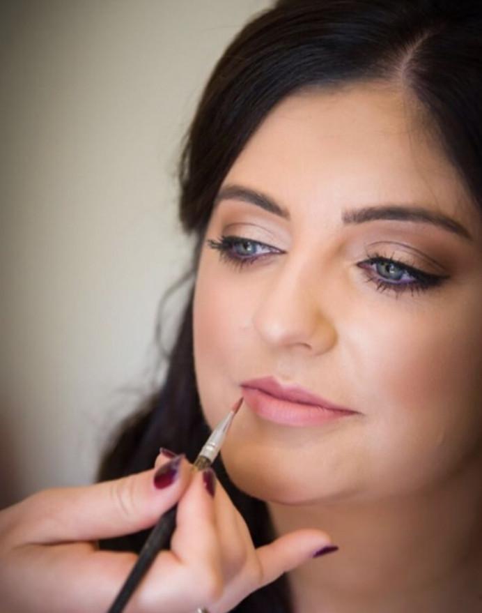 Bridal Hair & Makeup at Farnham Castle in Hampshire - Make Me Bridal Artist: Suzanne Dusek Hair & Makeup.