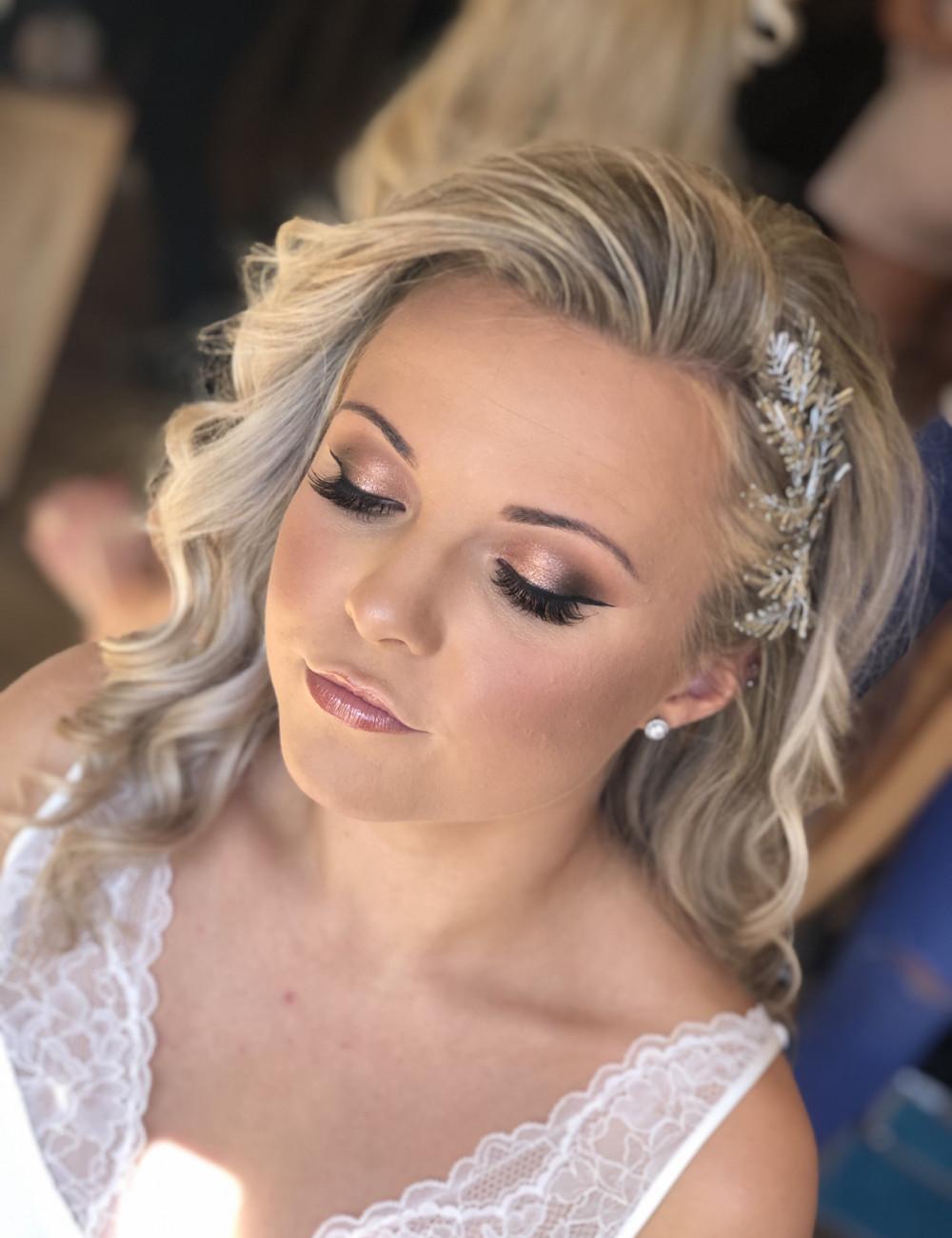 Bridal Hair & Makeup in West Sussex - Make Me Bridal Artist: Suzanne Dusek Hair & Makeup.