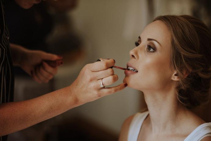 Bridal Hair & Makeup at Rivervale Barn in Surrey - Make Me Bridal Artist: Suzanne Dusek Hair & Makeup.