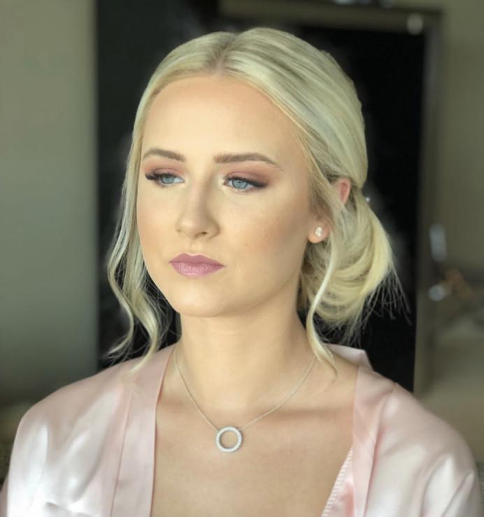 Bridesmaid Makeup at Brooklyn's Hotel Surrey - Make Me Bridal Artist: Suzanne Dusek Hair & Makeup.