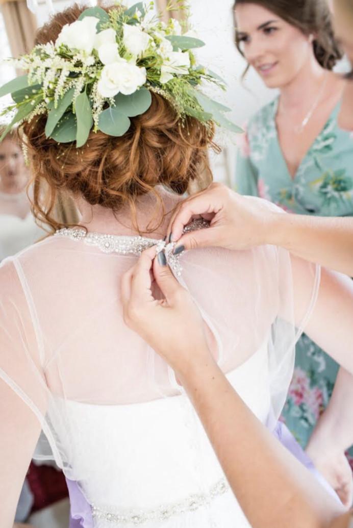 Bridal Hair in Brighton Sussex - Make Me Bridal Artist: Suzanne Dusek Hair & Makeup.