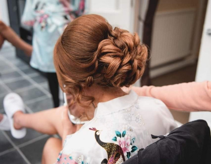- Make Me Bridal Artist: Hair Creations North West. #glamorous #bridalhair #romantichairup #hairup