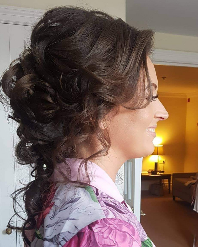 - Make Me Bridal Artist: Hair Creations North West. #curls #bridalhair #looseupdo #haircreationsnorthwest