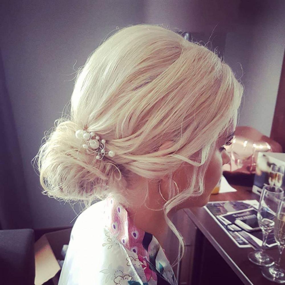 - Make Me Bridal Artist: Hair Creations North West. #chignon #hairup #bridesmaidhair #haircreationsnorthwest
