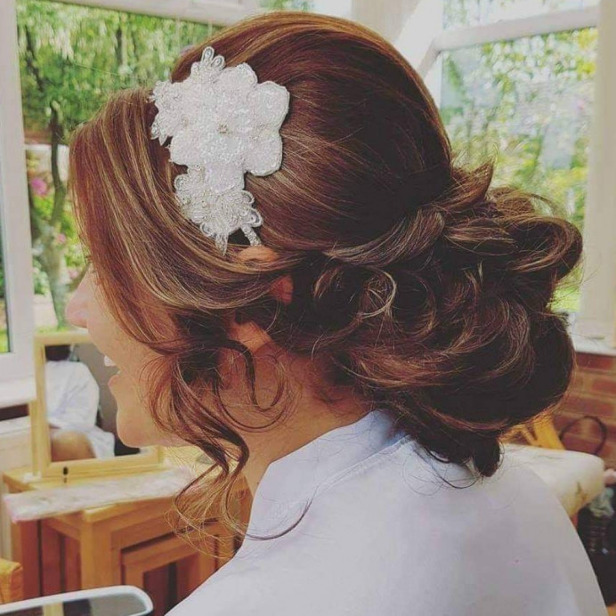 - Make Me Bridal Artist: Hair Creations North West. #curls #bridalhair #lowupdo #haircreationsnorthwest