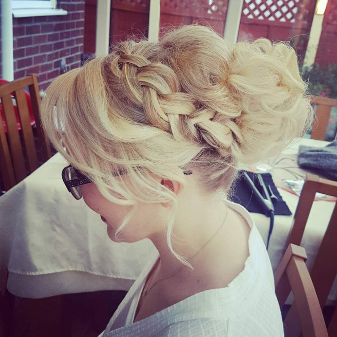 - Make Me Bridal Artist: Hair Creations North West. #plaitupdo #haircreationsnorthwest