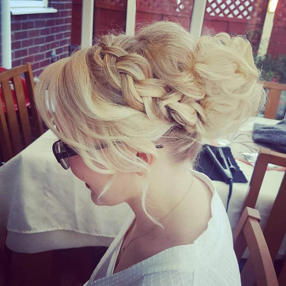 - Make Me Bridal Artist: Hair Creations North West. #plaitupdo #haircreationsnorthwest