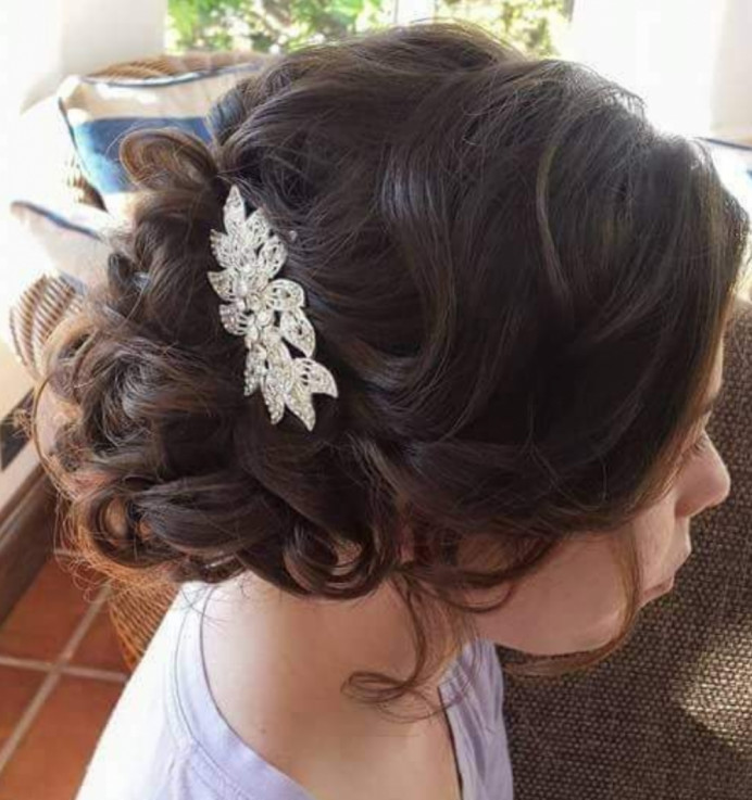 - Make Me Bridal Artist: Hair Creations North West. #hairup #loosecurls #bridesmaidhair #haircreationsnorthwest