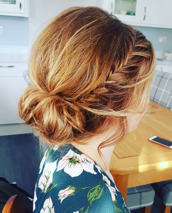 - Make Me Bridal Artist: Hair Creations North West. #boho #bridalhair #hairup #bride #fishtailbraid #haircreationsnorthwest