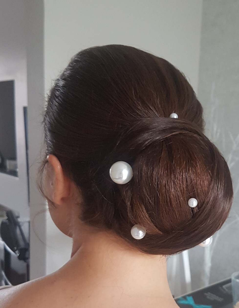 - Make Me Bridal Artist: Hair Creations North West. #classic #bridalhair #hairup #bun #bridalhairstylist #sleek #sleekhair #smoothupdo #detailedupdo #pearl