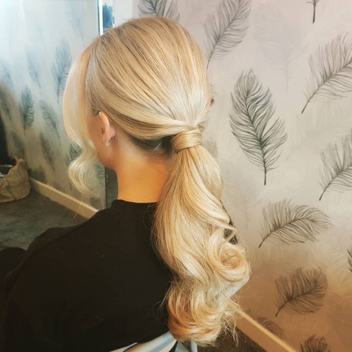 - Make Me Bridal Artist: Hair Creations North West. #lowupdo #bridalhair #ponytail #smoothupdo