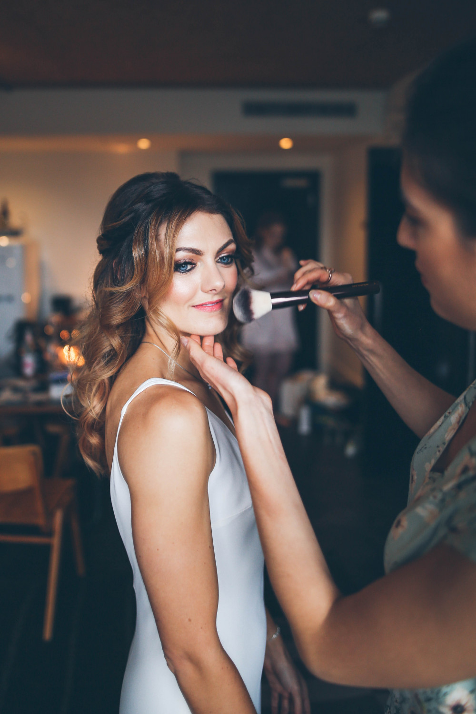 My Bride Beki at The Ace Hotel. - Make Me Bridal Artist: Rosie Cerosio Makeup. Photography by: Victoria Cadisch. #glamorous #bridalmakeup #elegant