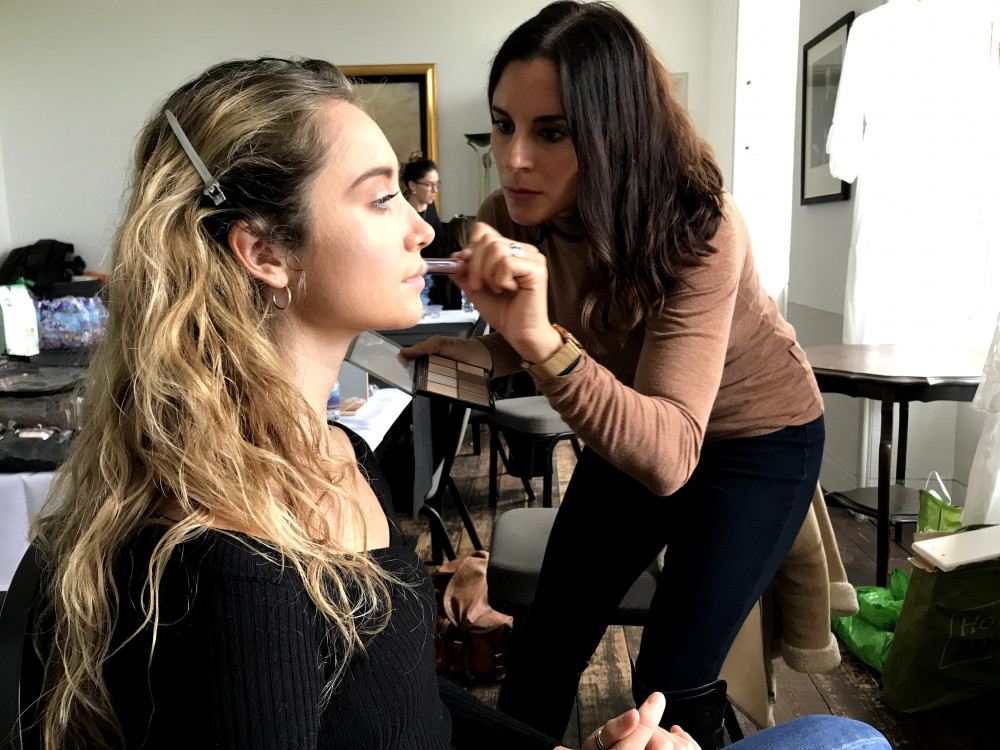 Behind the scenes of a recent editorial bridal shoot. - Make Me Bridal Artist: Sabina Ventriglia Makeup Artist. Photography by: Clare Davis. #bridalmakeup #meatwork #behindthescenes #bridalphotoshoot