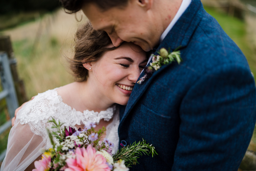 Gorgeous Billie & her natural curls. - Make Me Bridal Artist: RDWhair. Photography by: Sky Photography. #bridalhair #weddinghair #softupdo #naturalcurls