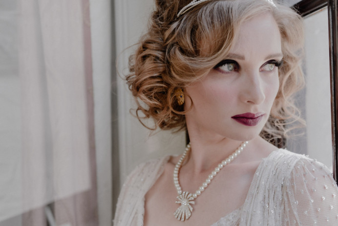 - Make Me Bridal Artist: SJB Hair and Makeup. Photography by: Spence Frederick Photography. #vintagewedding #londonbride #londonwedding #vintageweddingdress #londonweddinghair #londonstylist